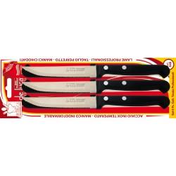 Set 6 coltelli bistecca con...