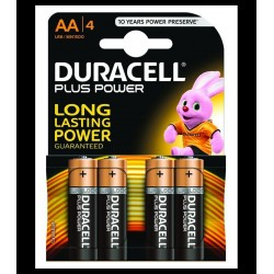 4 Batterie DURACELL AA/4