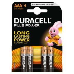 4 Batterie DURACELL AAA/4