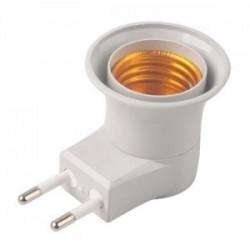 Porta lampada E27  presa...