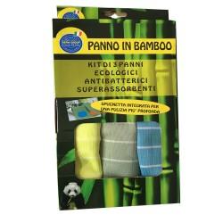 3 Panni in Bamboo
