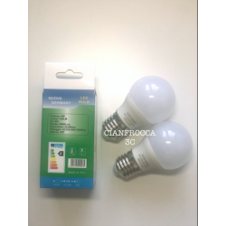 Kit 2 Lampadine a Led E27 6W